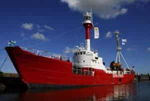 Besichtigung des Feuerschiff Borkumriff @ Feuerschiff Borkumriff