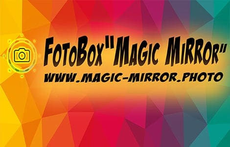 Fotobox Magic Mirror