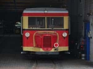 Fahrt mit dem Wismarer Triebwagen @ Inselbahnhof