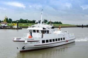 Schiffsausflug zur Insel Juist @ Borkumer Kleinbahn